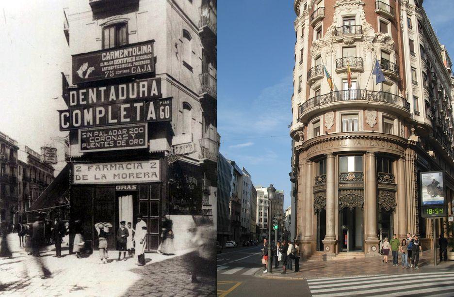 Un libro y un blog recuperan la valencia perdida a trav s for Fotos antiguas de valencia