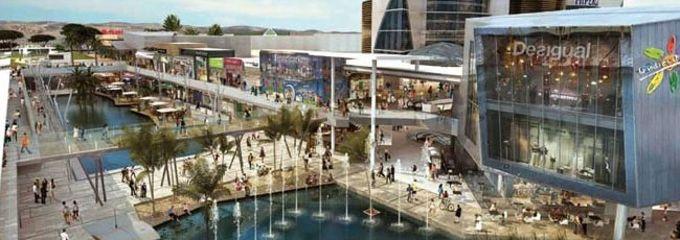 El centro comercial puerto mediterr neo proyectado en - El tiempo en paterna valencia ...