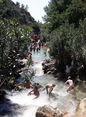 Cuatro piscinas naturales para ba arse este verano en for Piscinas naturales valencia