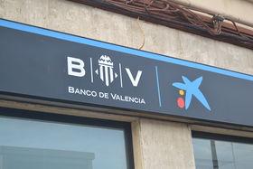 La caixa rotula como banco de valencia todas sus oficinas for Oficinas la caixa valencia capital