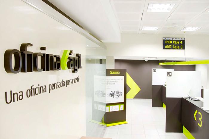 Bankia triplicar el n mero de 39 oficinas giles for Oficina agil bankia