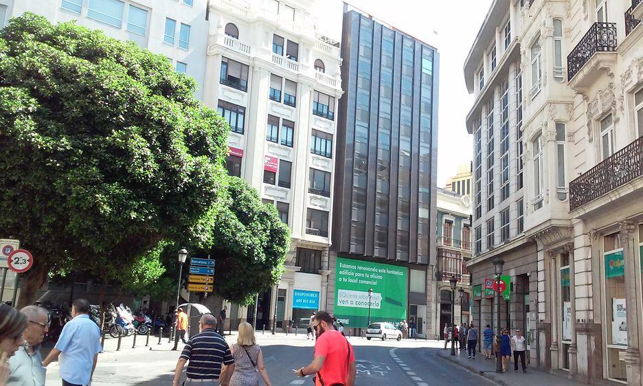 Goldman sachs da salida a la sede de caja madrid for Oficinas de bankia en murcia