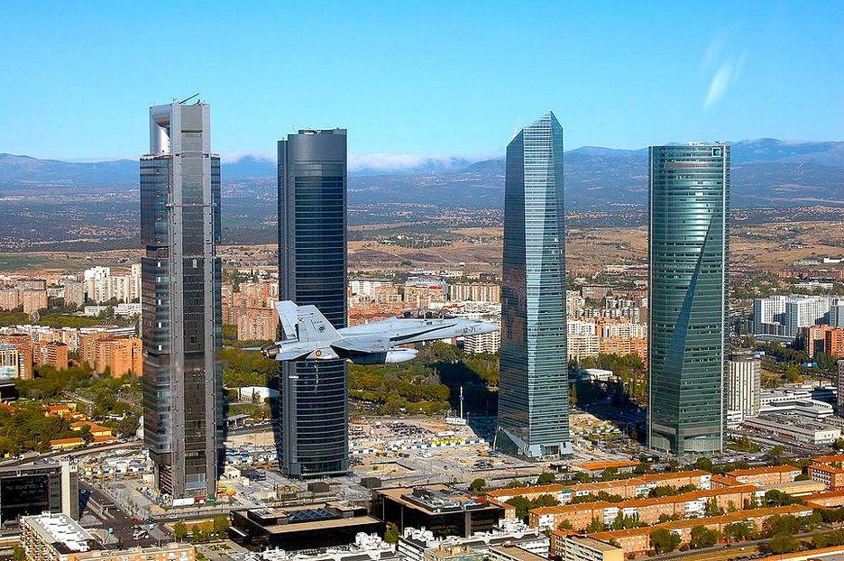 La torre caja madrid recibir a sus primeros empleados en - Caja de arquitectos madrid ...