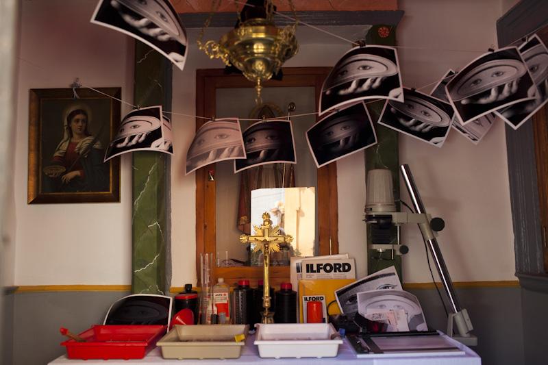 Sagunt 39 peregrinatio 39 el arte de vanguardia toma las ermitas for Cuarto oscuro fotografia