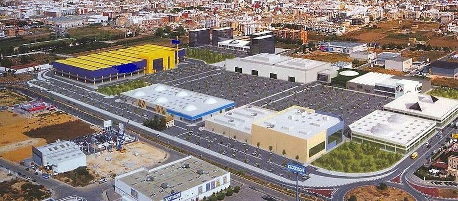 Ikea comienza las obras de adecuaci n para la construcci n for Recogida muebles ayuntamiento valencia