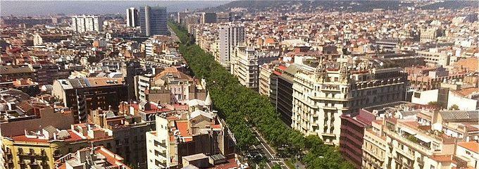 Barcelona diagonal 407 621 la nueva city de la comunitat for Avenida diagonal 621