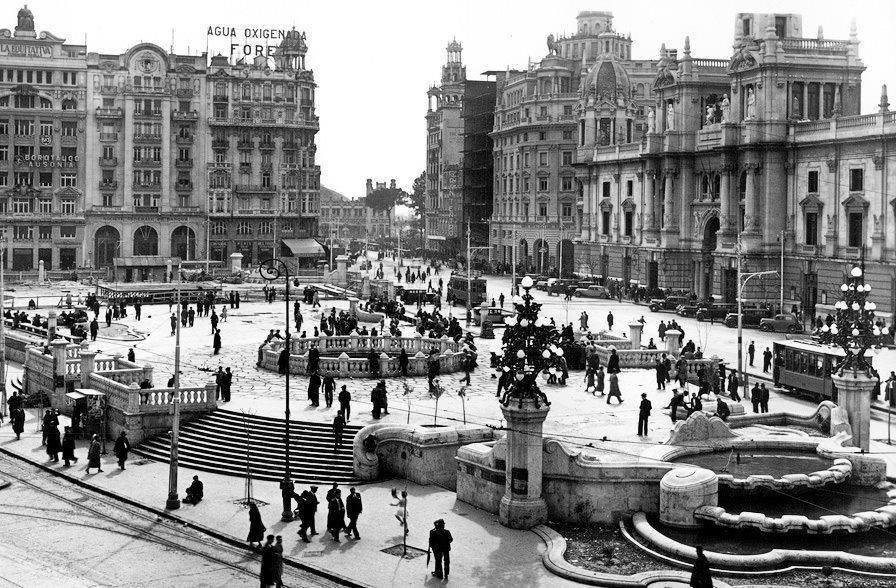 La historia tras el ltimo viral una foto de la plaza del for Fotos antiguas de valencia